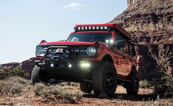 Filtrado el catálogo de accesorios completo del nuevo Ford Bronco
