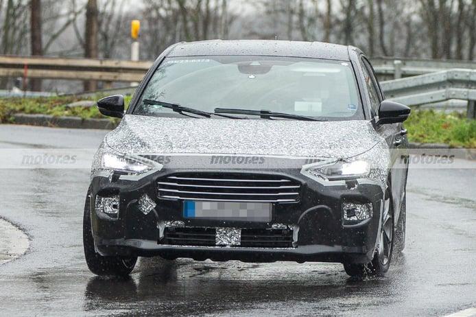 El Ford Focus Facelift 2022, cazado en nuevas fotos espías