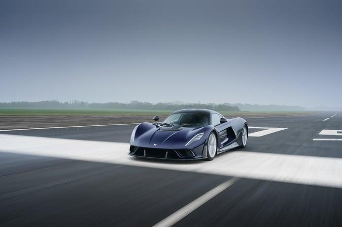El Hennessey Venom F5 supera las 200 mph en sus primeros tests y con solo 900 CV