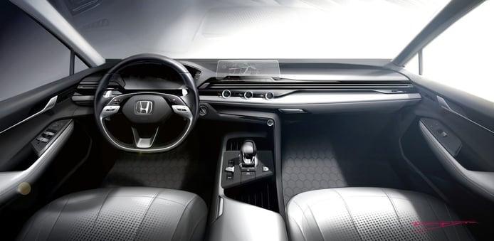 Honda revela una nueva filosofía de diseño con el salpicadero del nuevo Civic