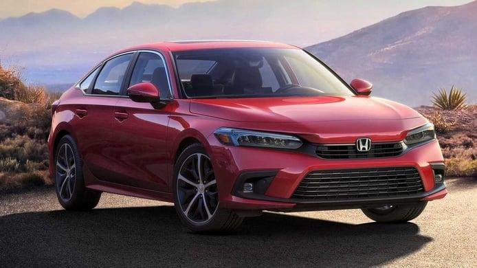 El nuevo Honda Civic Sedán 2022 desvelado semanas antes de su presentación