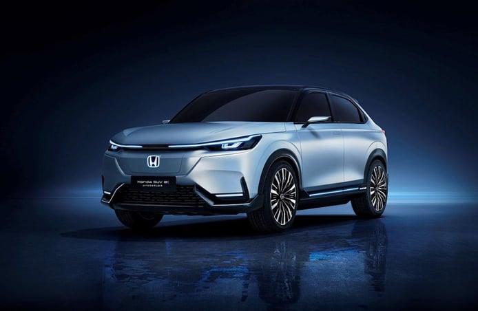 El Honda SUV e: Prototype es el adelanto de un atractivo SUV eléctrico