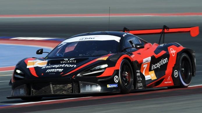 Inception Racing disputará tres rondas del GTWC Europe con un McLaren
