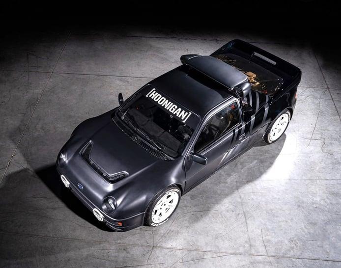 Ken Block vende varios de sus Ford de rallyes, incluido el salvaje RS200 Evo de 800 CV