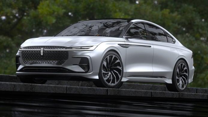 El nuevo Lincoln Zephyr Reflection adelanta el futuro sucesor del Lincoln MKZ