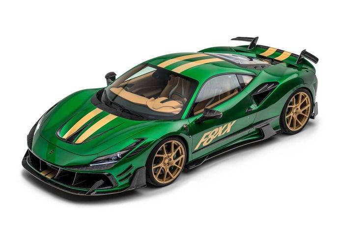 Mansory estrena un espectacular kit aerodinámico para el Ferrari F8 Tributo