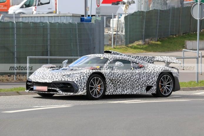 Primeras fotos espía del nuevo Mercedes-AMG ONE en Nürburgring