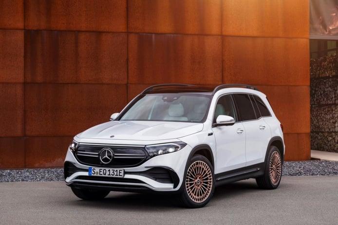 Mercedes EQB, llega el SUV compacto de siete plazas eléctrico de la estrella