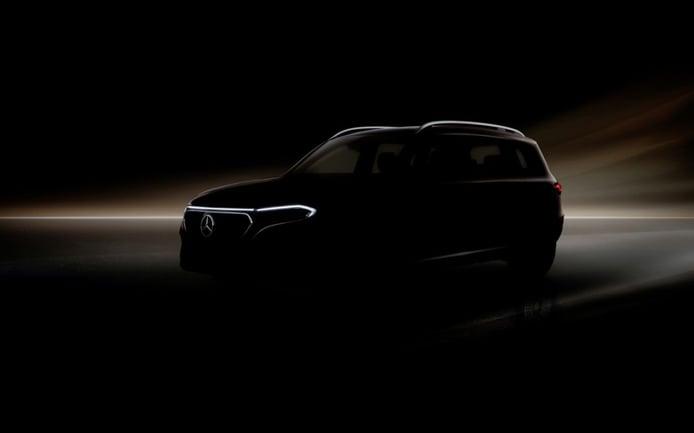 Teaser del nuevo Mercedes EQB, el SUV eléctrico debuta en Shanghái 2021