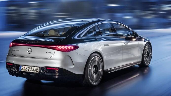 Mercedes EQS - posterior