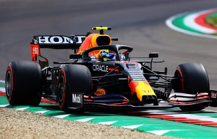 Pérez, por delante de Verstappen: «Venía para hacer la pole, pero...»