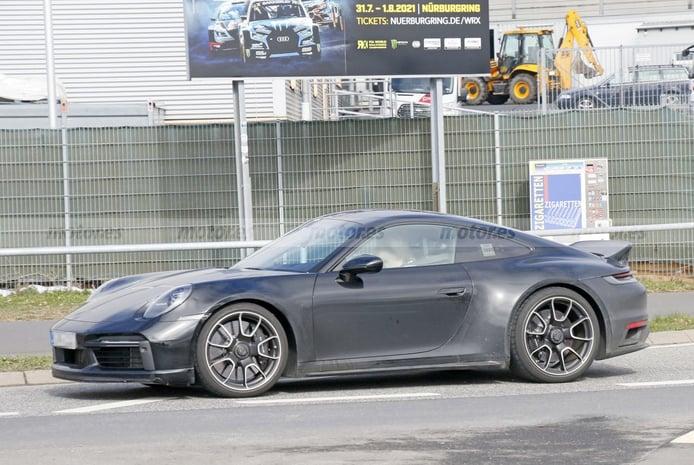 Cazamos por primera vez el Porsche 911 Sport Classic en su configuración definitiva