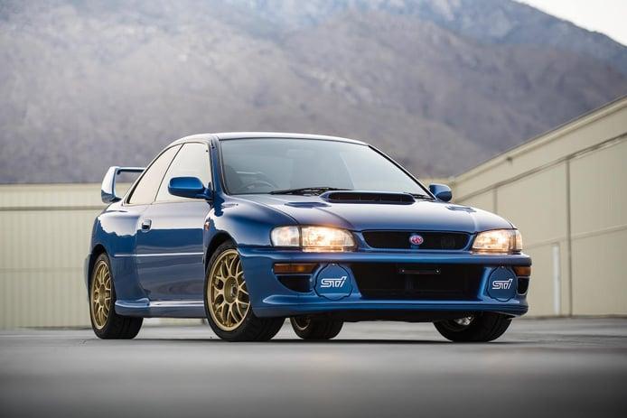 Un Subaru Impreza 22B STi es el nuevo modelo más caro de la historia de la marca