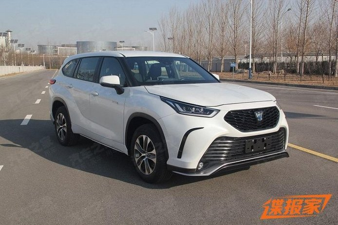 ¡Filtrado! El Toyota Crown SUV ha resultado ser un Highlander rebautizado para China