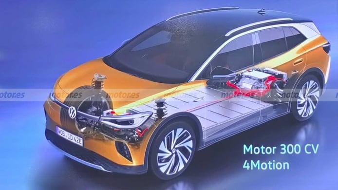 El nuevo Volkswagen ID.4 GTX, un SUV eléctrico de 300 CV, a la venta en mayo