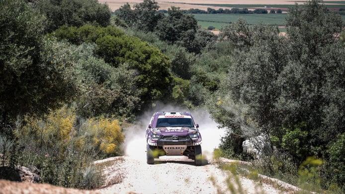 Al-Attiyah y Rodrigues ganan la etapa prólogo del Andalucía Rally