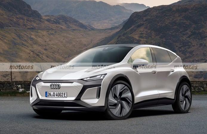 Audi Q2 e-tron 2023, adelantamos el futuro crossover eléctrico en esta recreación