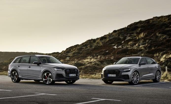Los Audi Q7 y Q8 estrenan el acabado deportivo S line Competition Plus en Alemania