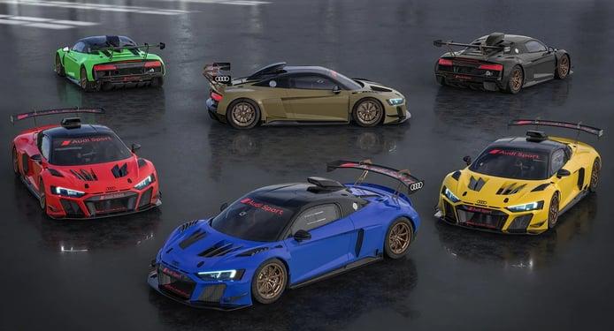 La variante de competición del Audi R8 estrena una peculiar edición limitada