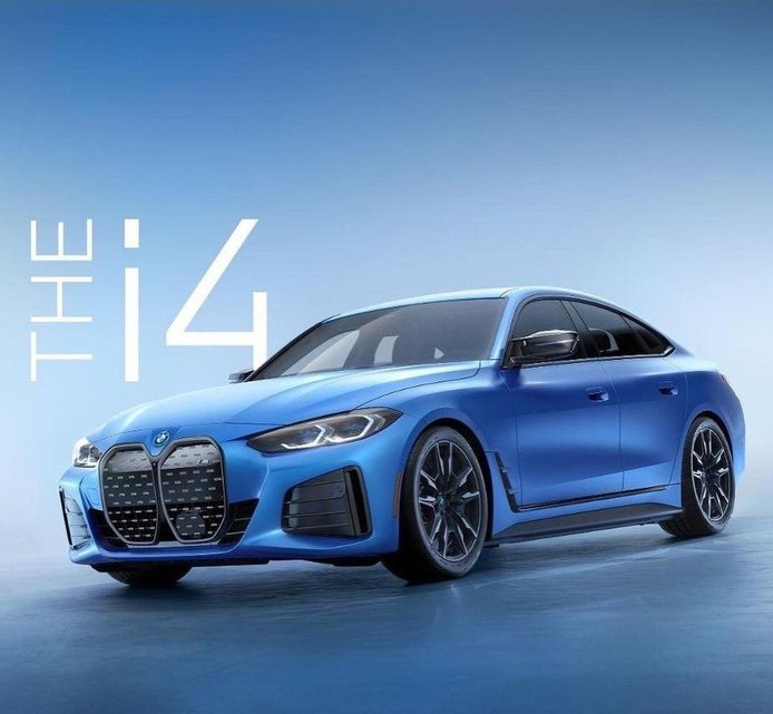 Nuevo teaser del BMW i4 M50, el Gran Coupé eléctrico a punto de debutar