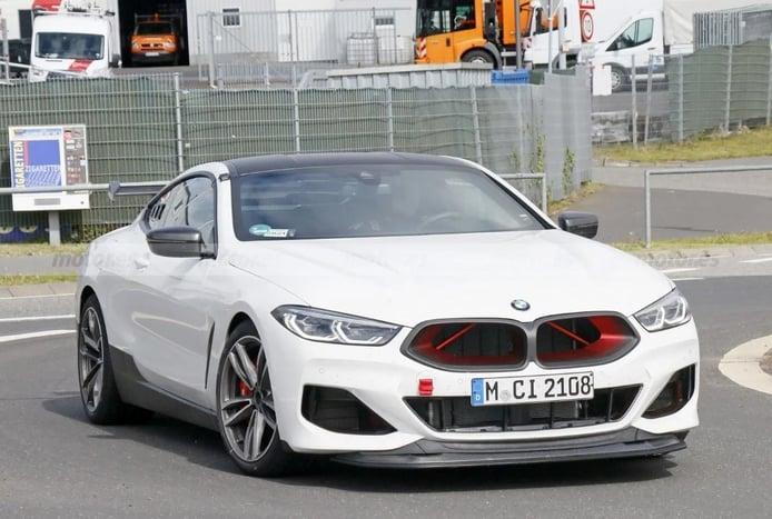 Escucha el brutal sonido del nuevo BMW M8 CSL 2022 en dos vídeos espía en Nürburgring