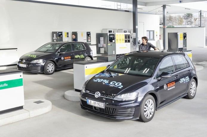 Bosch, Shell y Volkswagen presentan Blue Gasoline, con un 20% menos de emisiones de CO2