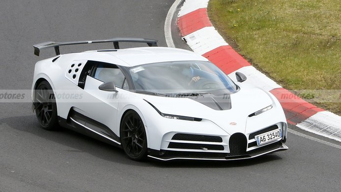 El radical y exclusivo Bugatti Centodieci al detalle tras su paso por Nürburgring