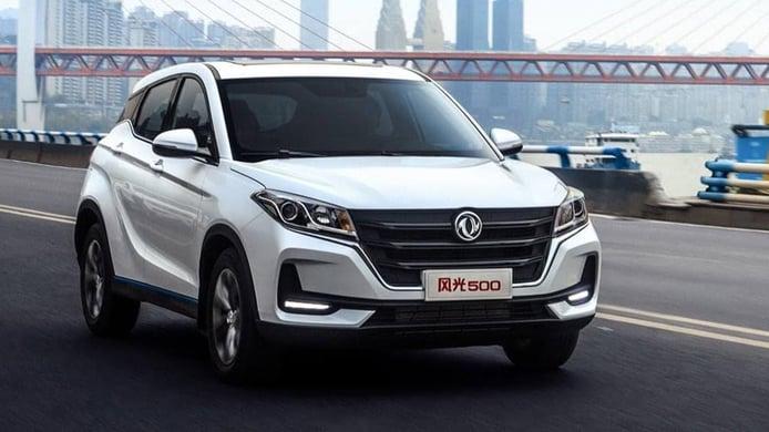 Exclusiva: El DFSK Fengon 500, un SUV compacto bifuel, llegará a España