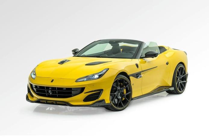 El Ferrari Portofino M más pomposo está firmado por Mansory... y no nos sorprende