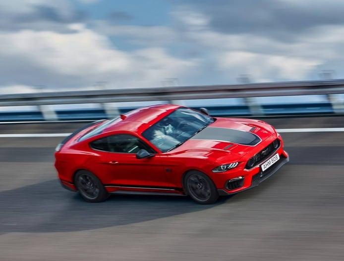 El Ford Mustang Mach 1 europeo va a ser más rápido de lo anunciado