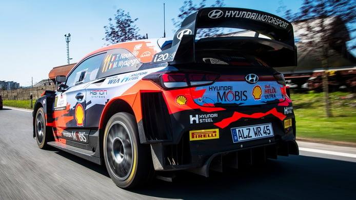 Hyundai quiere volver a la senda del triunfo en el Rally de Portugal