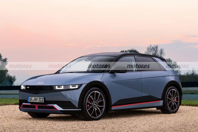 IONIQ 5 N, adelanto del primer deportivo eléctrico coreano que llegará en 2023