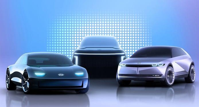 Hyundai detalla las especificaciones de los futuros IONIQ 6 2022 e IONIQ 7 2024