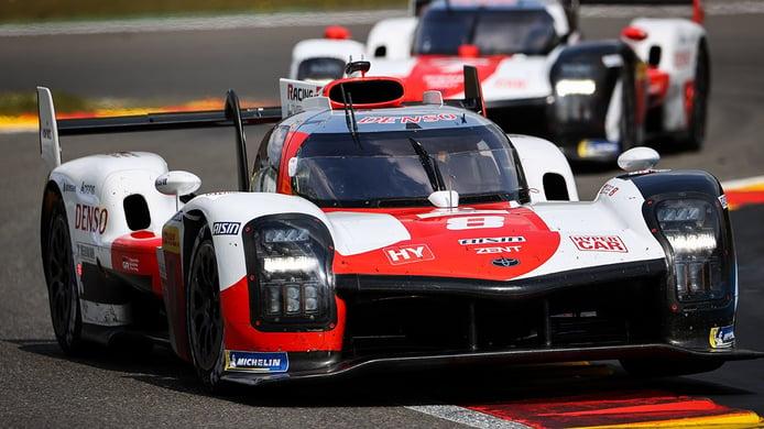La era de los hypercars comienza con victoria del Toyota #8