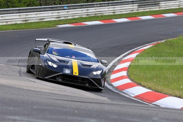 El Lamborghini Huracán STO rugiendo a fondo en Nürburgring [vídeo]