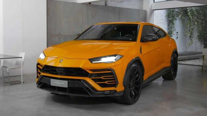 El Lamborghini Urus más agresivo gracias a su nuevo paquete de carbono