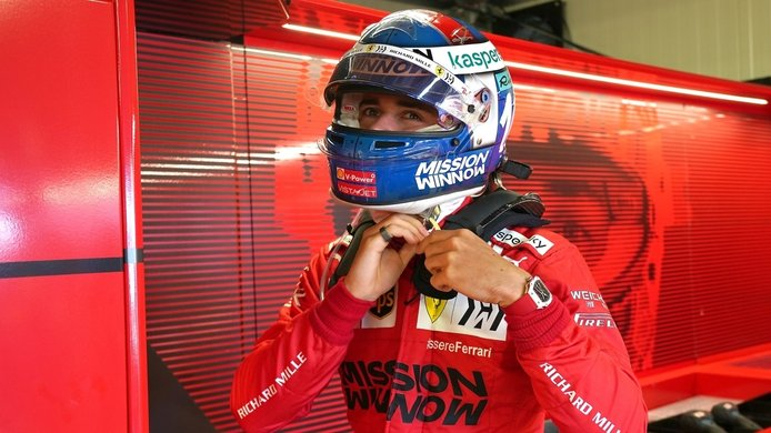 Leclerc, preocupado por la posible sanción que podría invalidar su pole