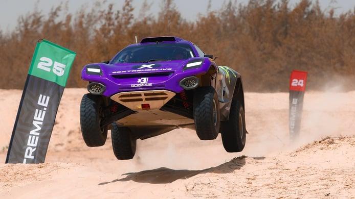 Loeb y Gutiérrez lideran la primera clasificación del Ocean X-Prix