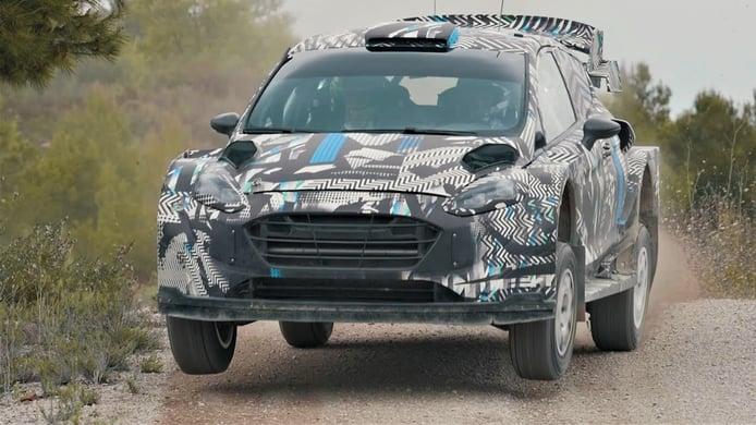 M-Sport decide volver a España para seguir probado su 'Rally1'