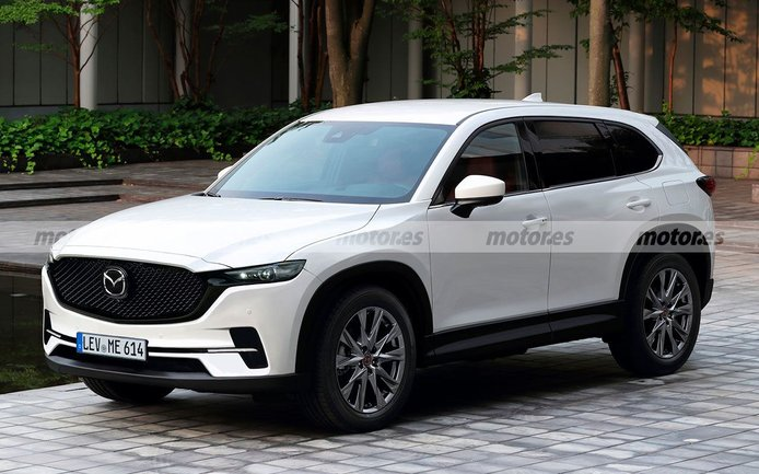 Recreación del futuro Mazda CX-5 2023, un adelanto de la transformación del SUV nipón