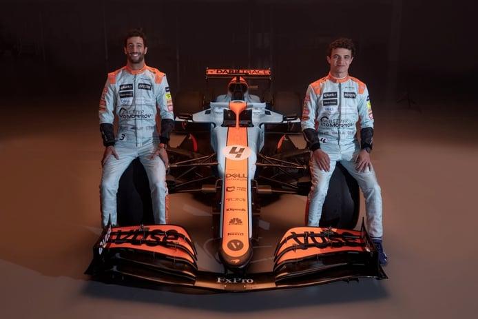 McLaren y Gulf recuperan su mítica decoración para el GP de Mónaco