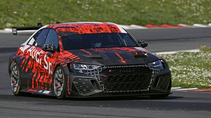 Nathanaël Berthon cree que el nuevo Audi RS 3 LMS TCR brillará en el WTCR