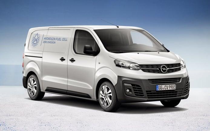 Opel Vivaro-e Hydrogen, nueva furgoneta eléctrica y de hidrógeno en otoño