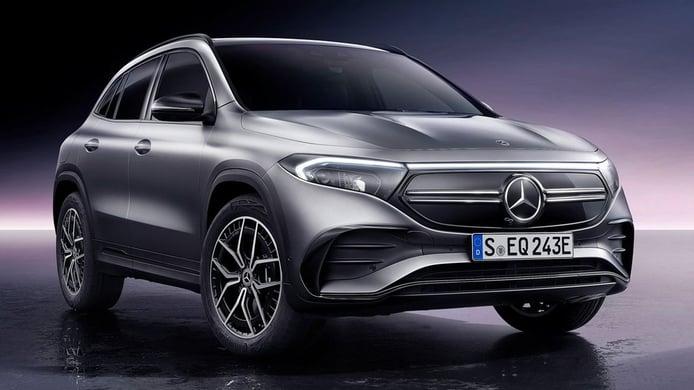 El nuevo Mercedes EQA con tracción 4MATIC ya tiene precio en España