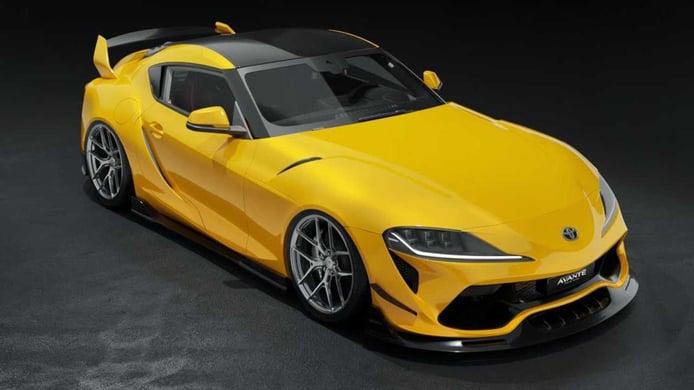 Avante Design presenta las versiones más extremas del Toyota GR Supra