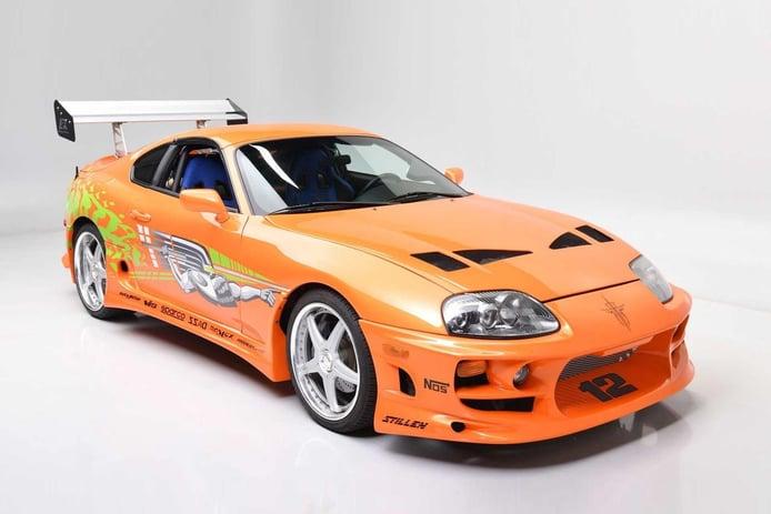 El auténtico Toyota Supra de Paul Walker en 'Fast and Furious' a subasta