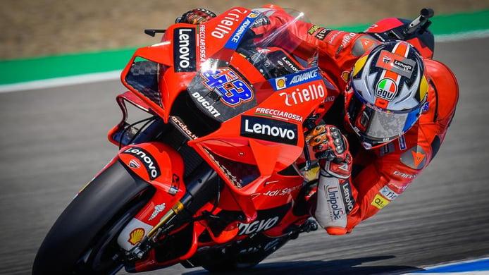 Victoria de Jack Miller en el doblete de Ducati en el GP de España