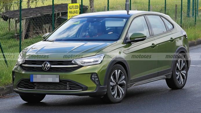 El Volkswagen Taigo, un nuevo SUV fabricado en España, cazado libre de camuflaje