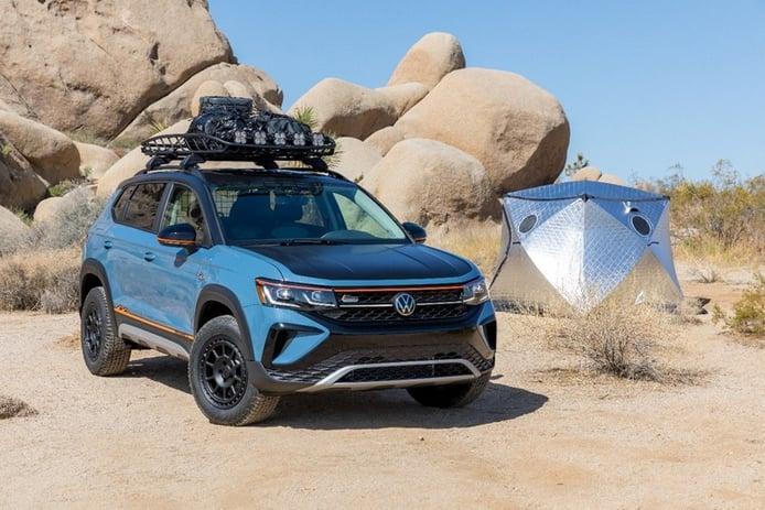 Volkswagen insinúa una nueva variante off-road con el Taos Basecamp concept