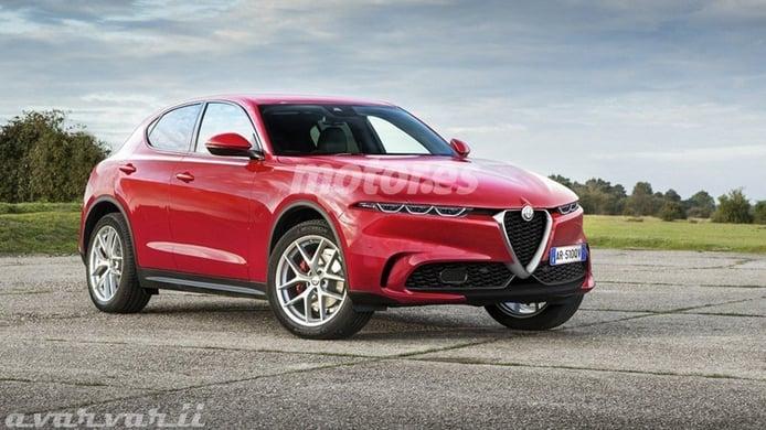 El nuevo Alfa Romeo Tonale, el esperado SUV italiano, ¡cazado a plena luz del día!
